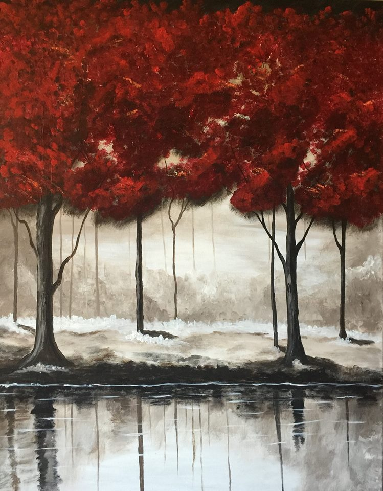 paints and pints at republic brewing company