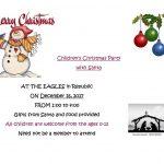 Christmas with Santa at the Eagles