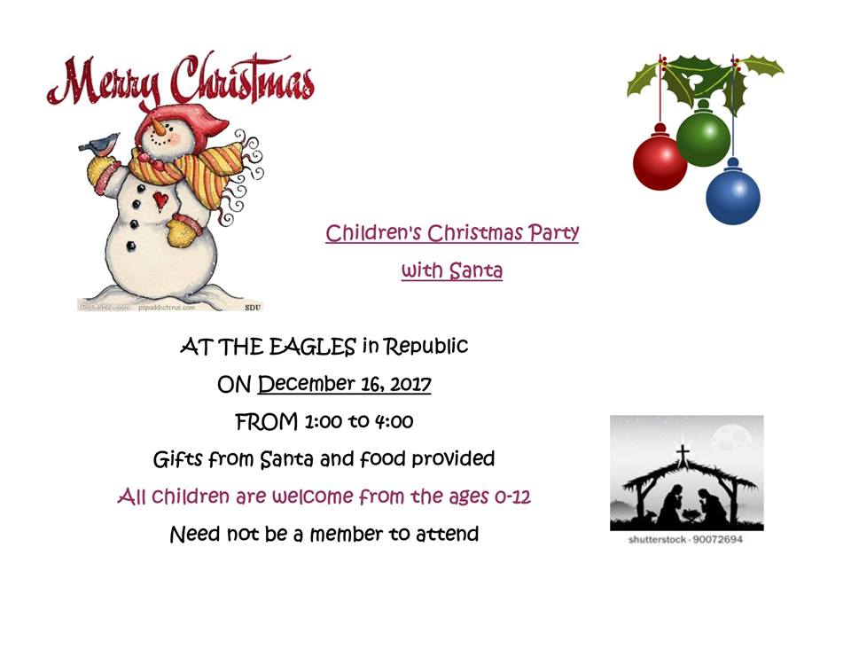 Christmas with Santa at the Eagles
