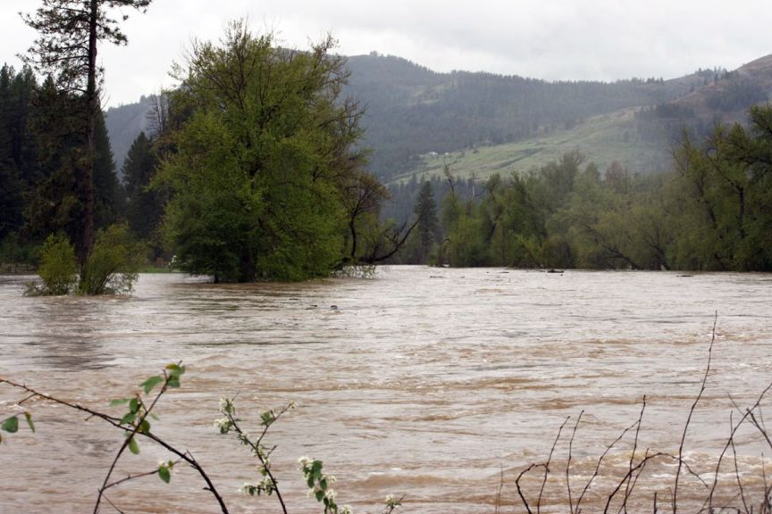 Kettle River Rages at Flood Stage