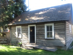 Tour the Historic Kaufman Cabin in Republic. Photo courtesy of the Ferry County Historical Society.