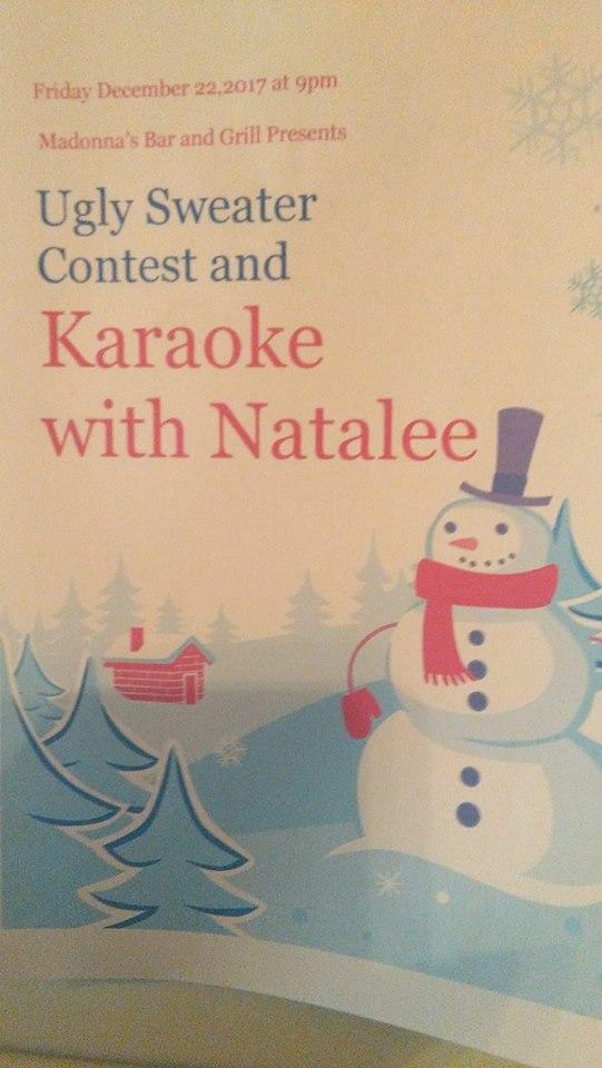 Karaoke with Natalee