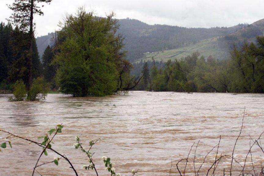Kettle River Rages at Flood Stage