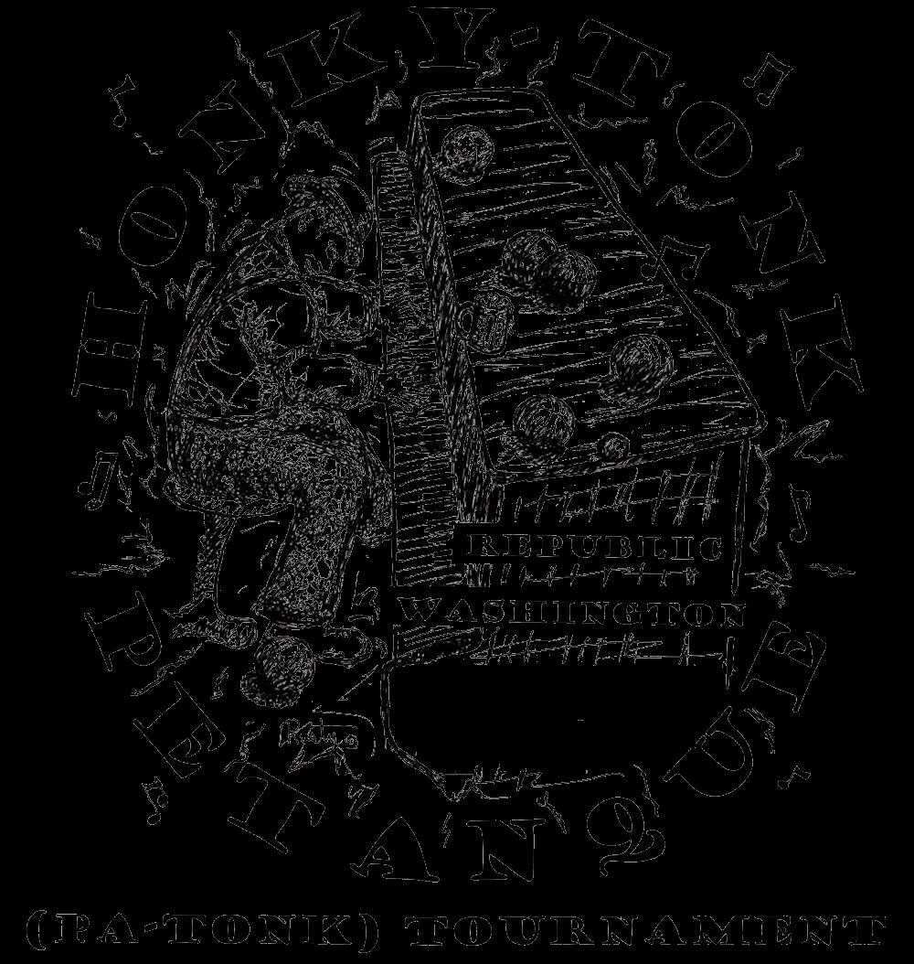 Honky Tonk Petanque logo